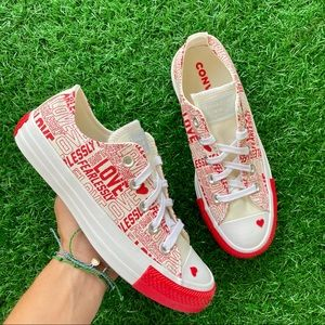 Converse All Star Ctas Ox Love Fearlessly